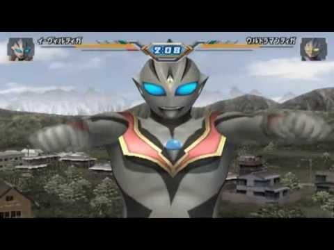 Evil Tiga Battle Mode Ultraman Fighting Evolution 3