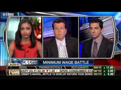 Ryan Girdusky on Cavuto Minimum wage will not be an issue in 2016