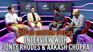SnG: Interview with Jonty Rhodes and Aakash Chopra | The Big Question Ep 61 | Video Podcast