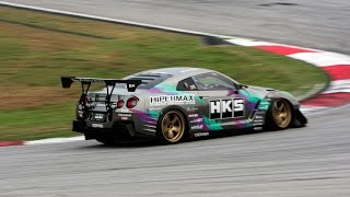 HKS GT1000+ GTR Time Attack by Taniguchi in Sepang International Circuit