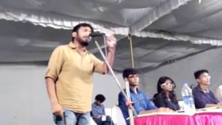 KanhaiyaKumar JNU president,Winning speech
