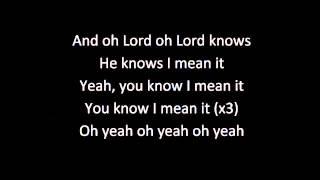 G Eazy I Mean It Lyric Video