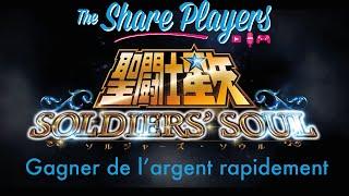 Saint Seiya Soldier's Soul | Gagner vite de l'argent | Easy Money | Dinero fácil