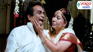 Brahmanandam First Night Romantic Comedy Scenes - Volga Videos
