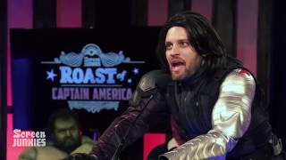 Bucky Barnes Roasts Captain America! – The Roast of Captain America