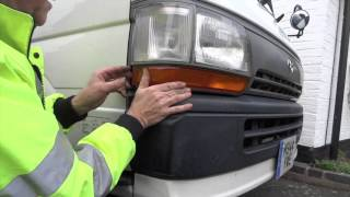 hiace front lamp clusters