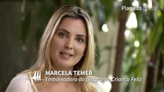 Marcela Temer visita Rede Sarah