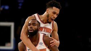Tim Hardaway Jr 14 Points 4th QTR! Knicks Comeback vs Jazz! 2017-18 Season