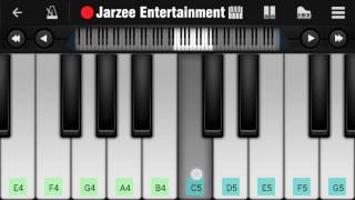 Mere Mehboob Qayamat Hogi - Easy Mobile Perfect Piano Tutorial | Jarzee Entertainment