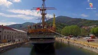 Il restauro della Nave Scuola Amerigo Vespucci