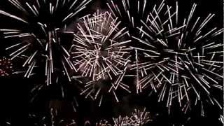 Firework Slowmotion - Large Firework Shells