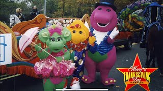 Barney in the 1999 Macy's Thanksgiving Day Parade
