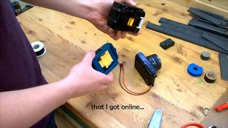 Cordless Drill Power for Your Camera!