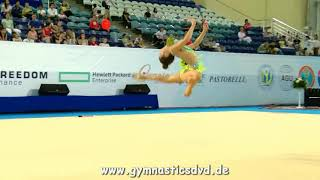 Lola Zakirova (UZB) - Junior 04 - Asian Championships Astana 2017