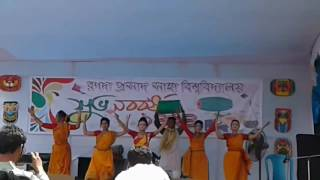 Bajere Dhol dhol baje Boishakhi dance    RPSU