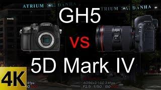 GH5 vs 5D Mark IV - Video Tests Side by Side