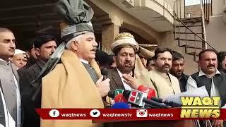Chief Minister Mahmood Khan inaugurated the three-day anti-polio campaign .