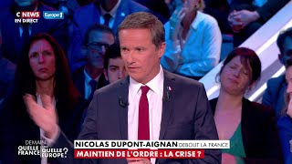 Clash entre David Cormand et Marine Le Pen