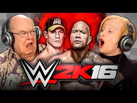 ELDERS PLAY WWE 2K16 Elders React Gaming
