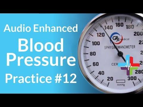 Audio Enhanced Blood Pressure Practice #12