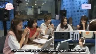 [ENG-SUB] 160718 GFriend's Yuju talks about DIA/ I.O.I's Chaeyeon