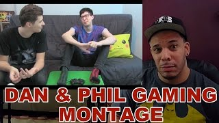 My Review of DAN AND PHIL FUNNY GAMING MONTAGE