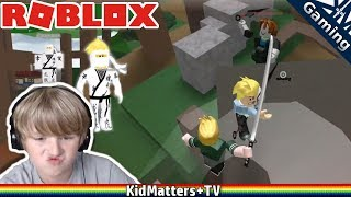 ROBLOX BE A PARKOUR NINJA. I'M A NINJA warrior assassin. HOW TO TRAIN FIGHT WIN [KM+Gaming S02E09]