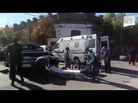 Accidente en Av. San Martín
