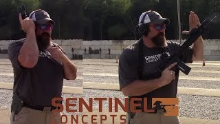 Handgun and Carbine Ready Positions With Steve Fisher Of Sentinel Concepts