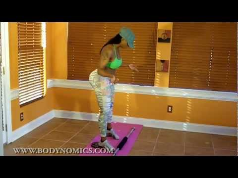 How Buffie the Body does SQUATS the best butt and thigh builder