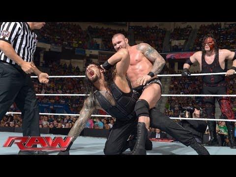 Xxx Mp4 John Cena Amp Roman Reigns Vs Randy Orton Amp Kane Raw June 30 2014 3gp Sex
