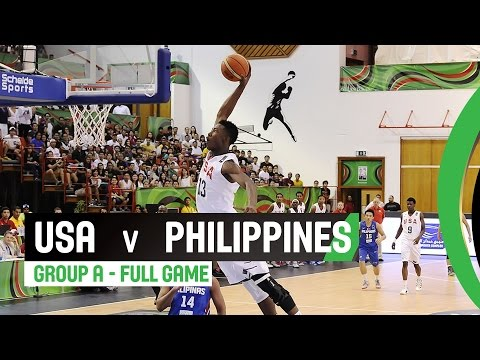 watch USA v Philippines - Group A Full Game - 2014 FIBA U17 World Championship