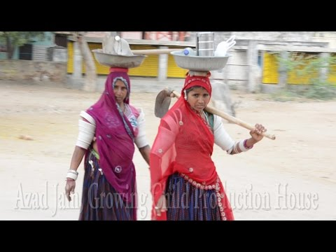 Real Indian Village Strong Working Woman in Indian Village,Rajasthan Video,Bhinmal,Junjani.भीनमाल