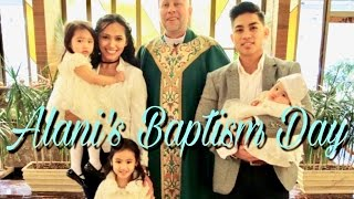Alani's Baptism Day | Taliman Vlogs