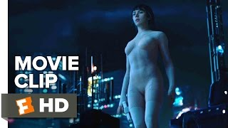 Ghost in the Shell Movie CLIP - Building Jump (2017) - Scarlett Johansson Movie