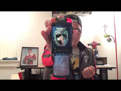 AFSINREVERIE'S Power Rangers SPD Shadow Morpher Review/2K Sub Special