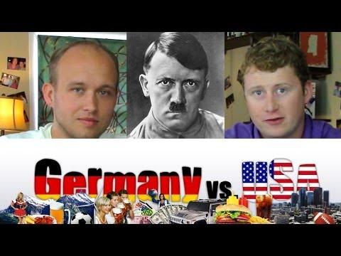watch Hitler - Germany vs USA