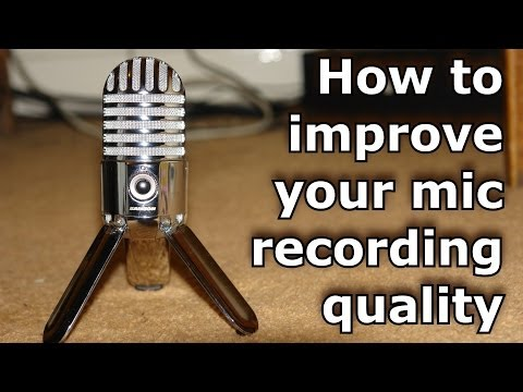 How to have good quality audio with your microphone