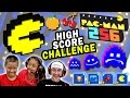Lets Play Pacman 256! HIGH SCORE CHALLENGE (5 ROUNDS w/ FGTEEV Cheaters) + Power Ups Showcase