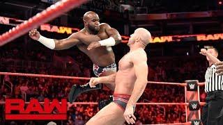 Titus Worldwide vs. Sheamus & Cesaro: Raw, Feb. 19, 2018