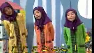 Muslim Kid School Arabic Alphabet