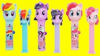 Paw Patrol and My Little Pony Pop Ups Lolli Pops