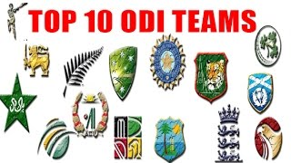 Top 10 ODI Teams | ICC ODI Ranking 2016 | Cricket Fan Club