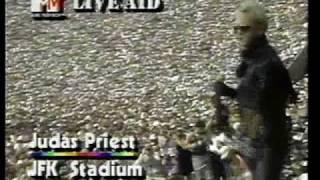 Judas Priest Living After Midnight @ Live Aid 85