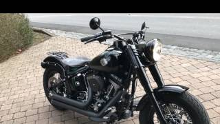 walk around - Softail SlimS 2016 V&H Big Shot Staggered