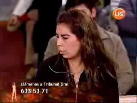 ROSA ESPINOZA EN TRIBUNAL ORAL PARTE 1