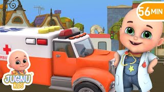 Rescue Toys Ambulance - Kids toys unboxing kindergarten  - Surprise Eggs Toys from Jugnu Kids