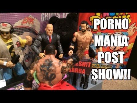 GTS NETWORK: Post-Show for PORNOMANIA XXX! WWE Mattel wrestling figures animation
