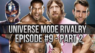 WWE 2K14: Universe Mode - Episode 9 1/2 (Bryan vs Batista) (Part 2 of 2)