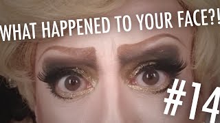 WHAT HAPPENED TO YOUR FACE?! — 14. Post-Karaoke Shine: WIN/Eyeshadow: FAIL